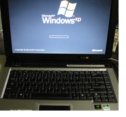 laptop ASUS po nprawie BGA